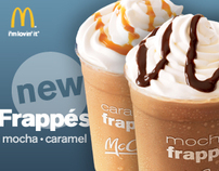 McDonald's Frappe Banner Ad