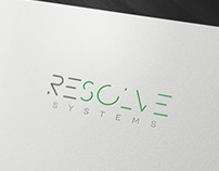 Resolve Systems – Unused logo design proposal
