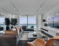 Apartment in Oceana by YØDEZEEN Architects