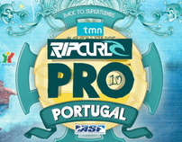 Teaser & Motion Graphics : Rip Curl Pro Portugal 2010