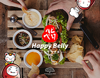 Beware of Addiction to Happy Belly!