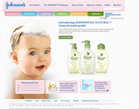 Johnson's Baby | Website Relaunch