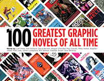 Top 100 Greatest Graphic Novels Bookazine