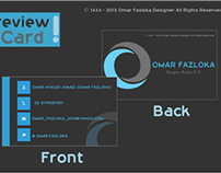 Omar Fazloka Business Card