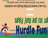 Logo Designed for Hurdle Fun