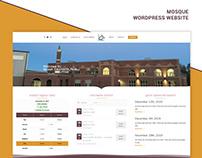 Mosque Website Design