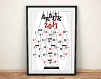Calendar Poster Design