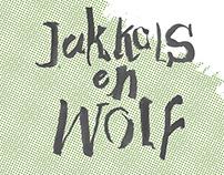 JAKKALS EN WOLF