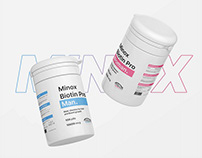 Minox Biotin Pro- Vitamins for Hair growth