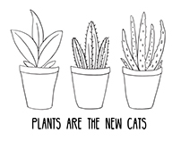 Plants Are the New Cats