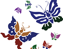 Abstract Flutterbugs