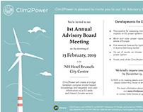 Clim2Power Invitation