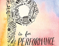 P is for Performance: An Alliteration Book