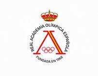 Rediseño imagen Real Academia Olímpica Española