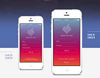 Apple Fun Club UI Concept