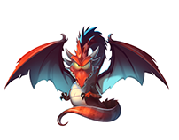 Dragon Animation in Spine