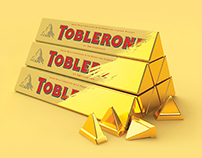 Toblerone Gold Activation