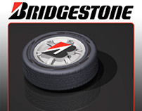 Bridgestone Tire Button