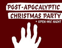Post-Apocalyptic Christmas Party + Open-Mic Night