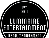 Luminaire Entertainment Logo Design