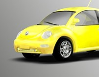 Car Rendering Exercise 2009