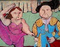 Fernando Botero kids art class poster