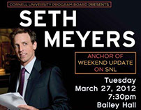 Seth Meyers Poster & Advertising Materials
