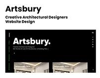 Artsbury - Web Design