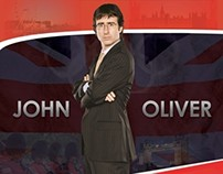 John Oliver Poster & Advertising Materials