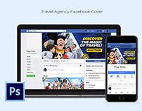 Travel Agency Facebook Cover Design