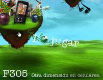 Sony Ericsson F305, otra dimensión en celulares.