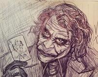 The Joker by Pallominy from the movie The Dark Knight