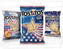 PACKAGING - Tostitos Seasonal Chip Bag - Fourth of July