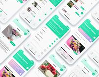 FlowMes. UI/UX Design