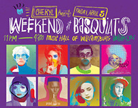 CHERYL: Weekend at Basquiat's