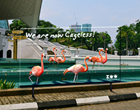 'We are now cageless' Advertising Campaign