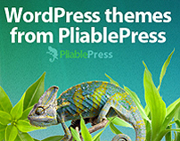 Web design for Pliable Press | wordpress premium themes