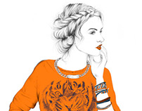 Women * Fashion Illustrations