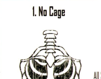 """No Cage"" Single Back Cover"