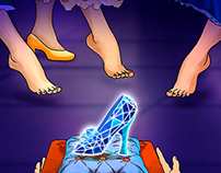 Cinderella slot bonus game