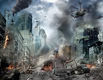 City Collapse (speed art)