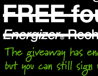 Energizer Rechargeable Battery Facebook Giveaway