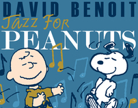 JAZZ FOR PEANUTS CD Cover for David Benoit Album