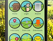 Indian Farming Concept