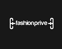 fashion prive brand identity and web design