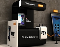 Black Berry 10 launch stand