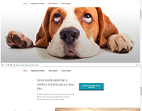 Pet Shop Agendamento Online - Sistema Demonstração