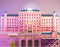 The Grand Hotel Budapest. Tribute to W.A.