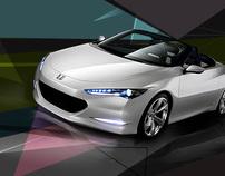 Honda Concept Billboard