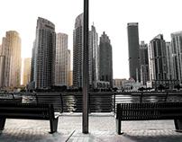Daytime Dubai Marina